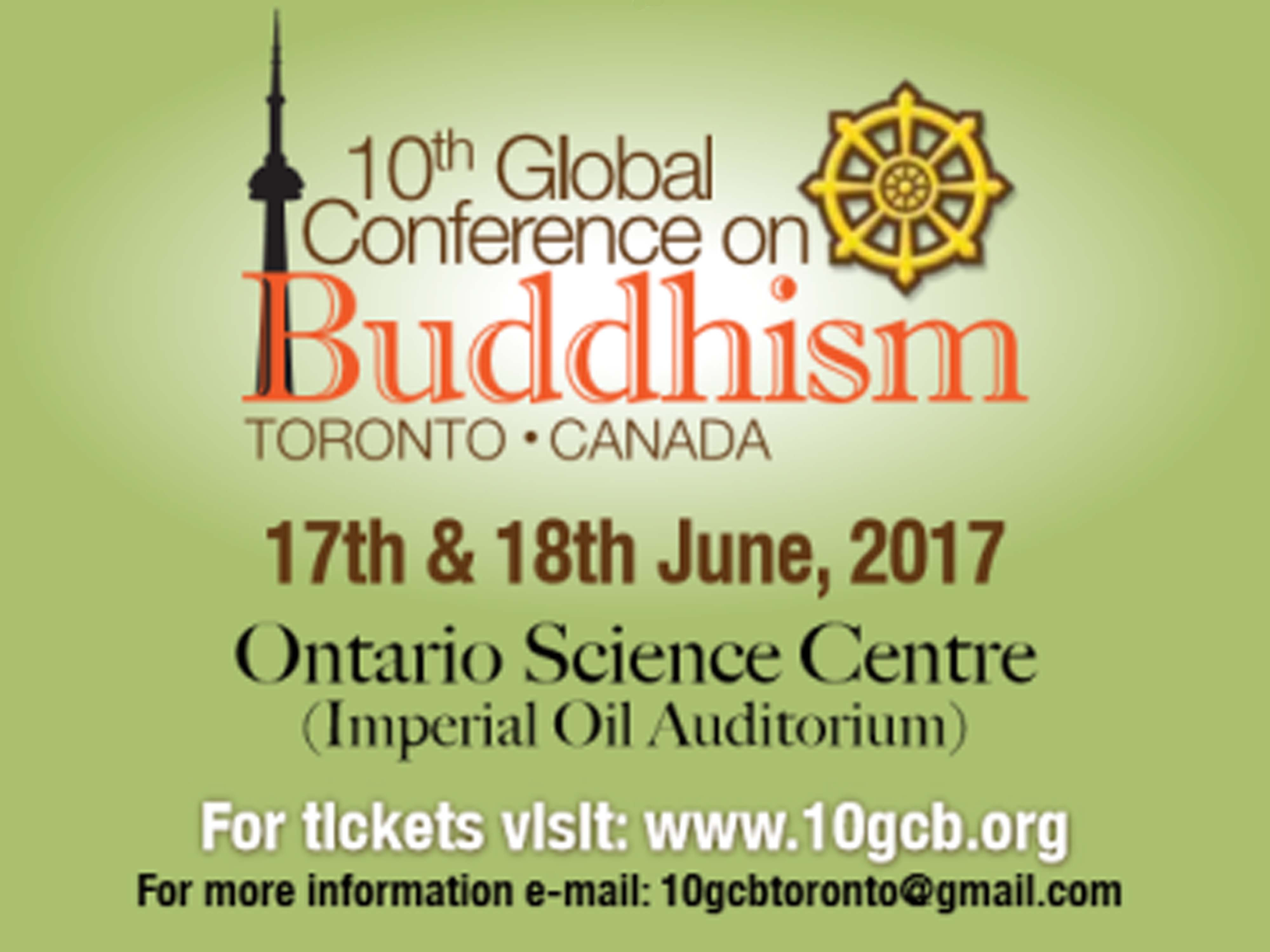 Sati Pasala @ the 10th Global Conference on Buddhism