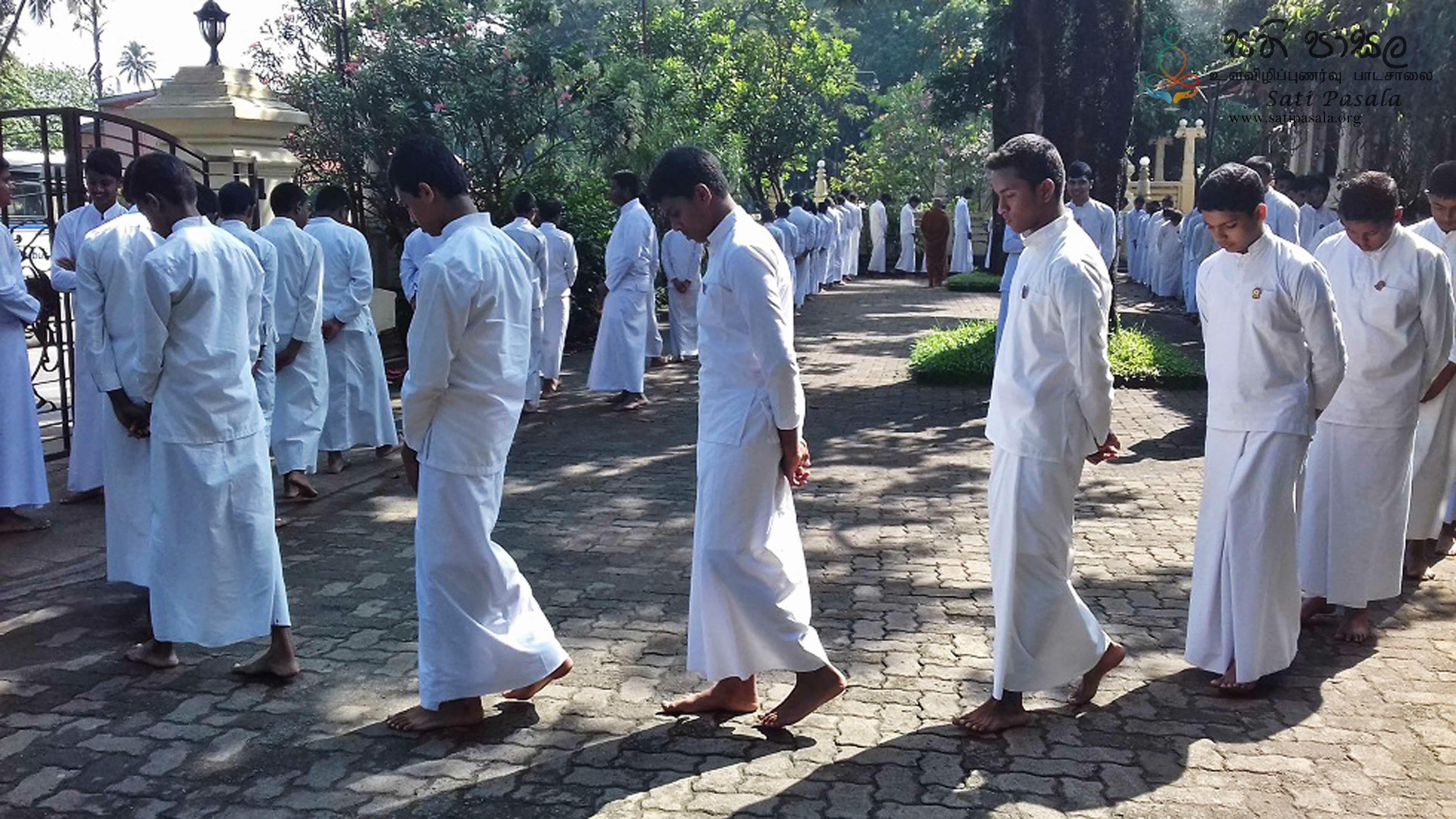 Sati Pasala Programme at Gatambe Temple, Kandy