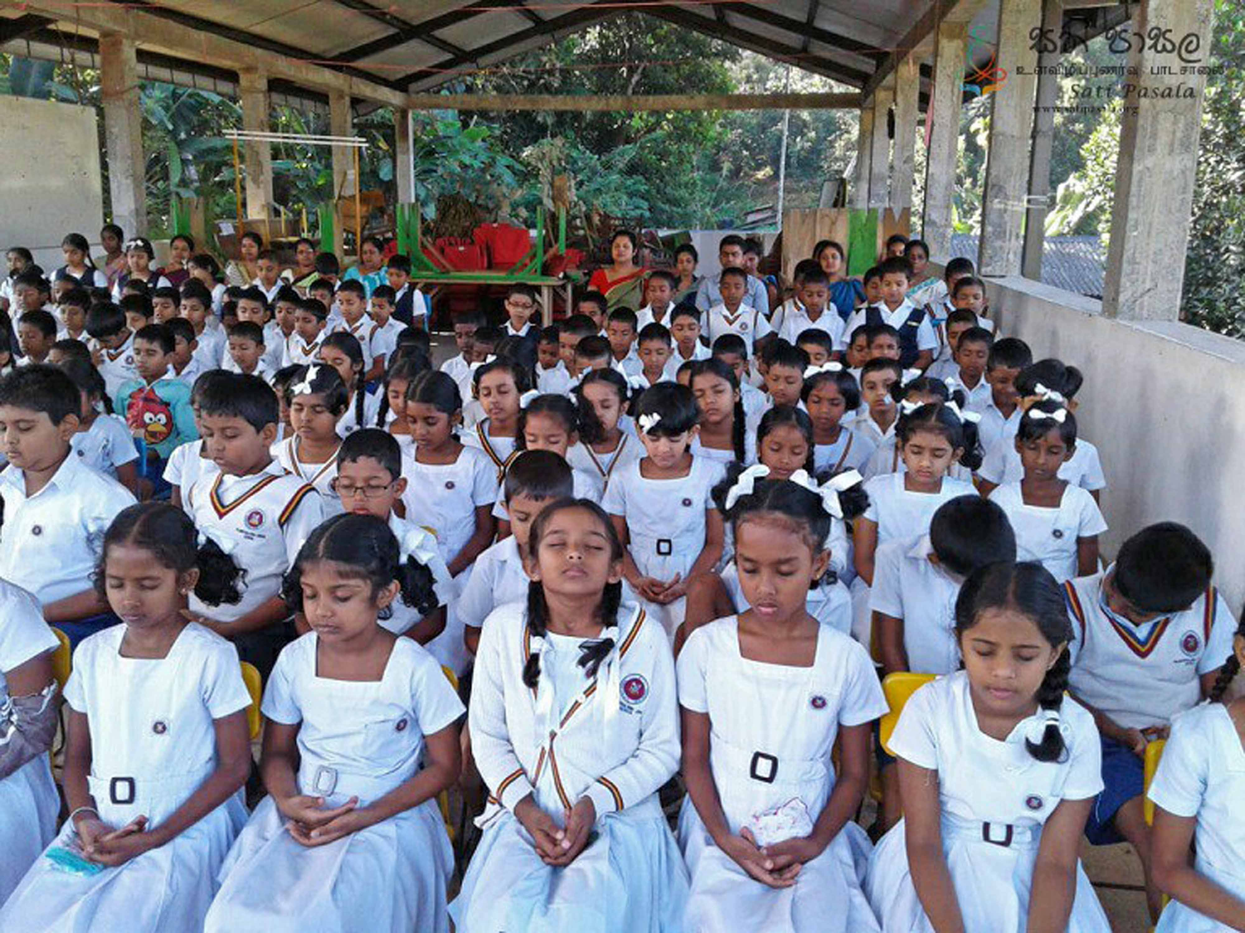 Sati Pasala at Pilimathalawa Primary School