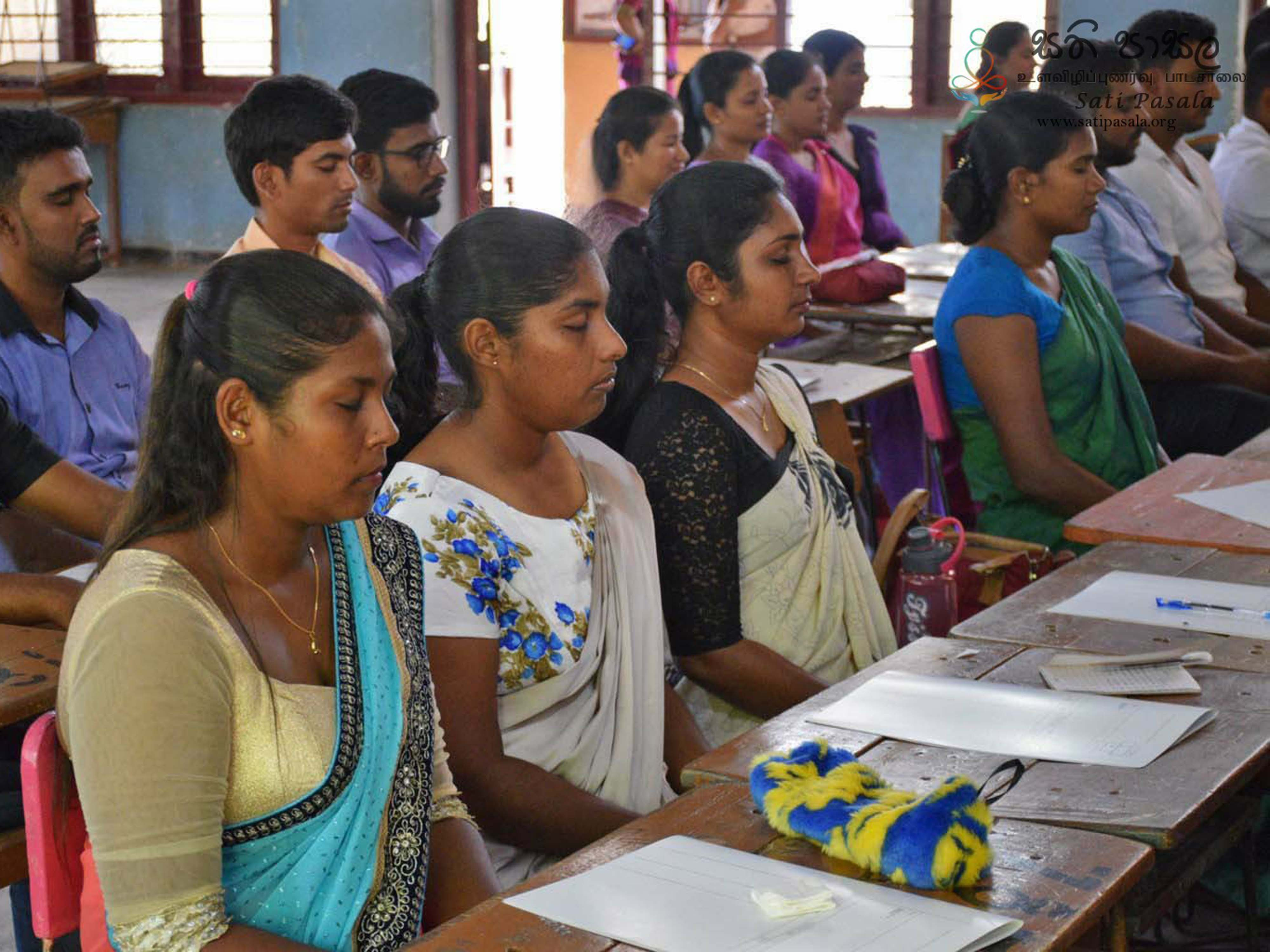 The Programme Conducted by the Ministry of Education and Sati Pasala Foundation at North Western Province