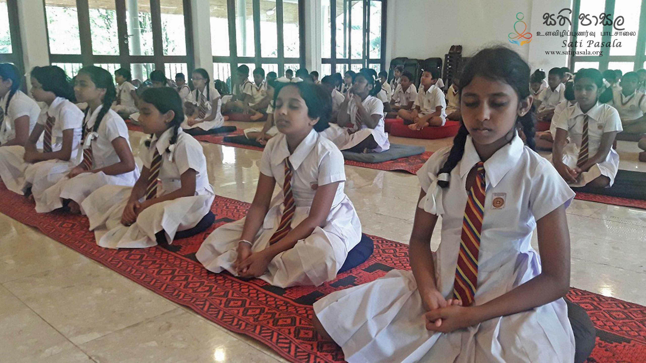 Sati Pasala Mindfulness Programme for Dheerananda College, Pilimathalawa