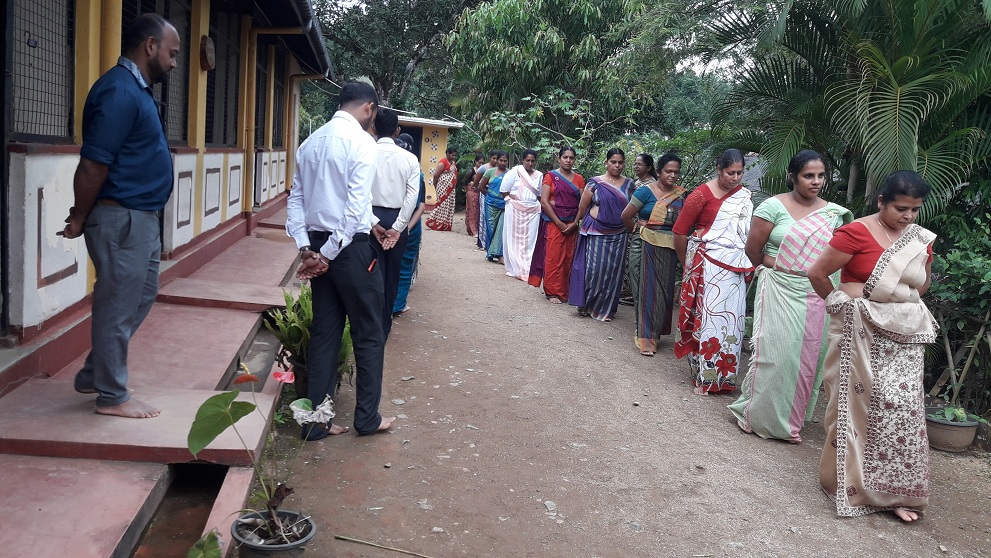 Sati Pasala Program for the Staff of Hector Kobbekaduwa Primary School, Kubalwathumulla