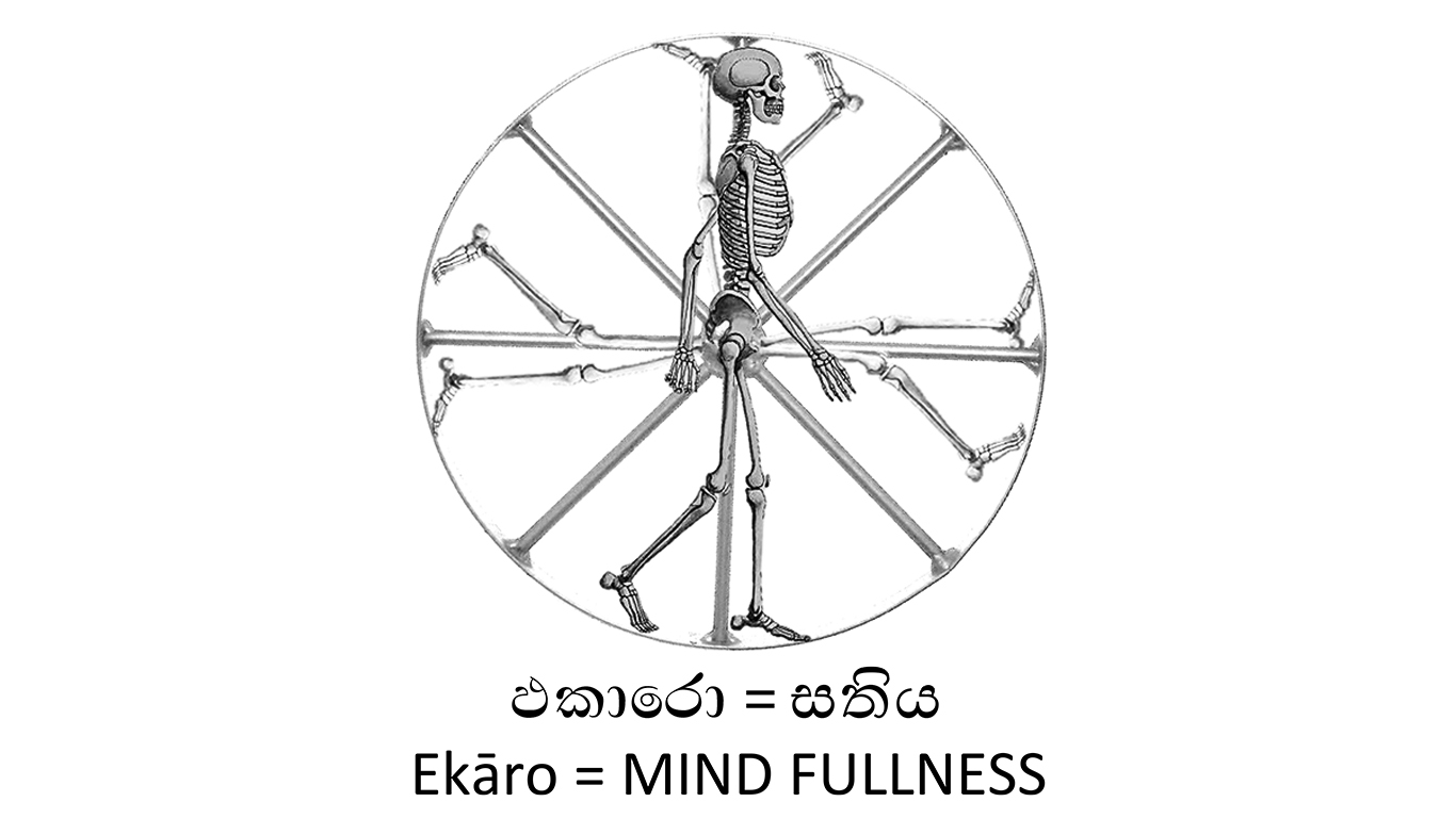 Ekāro (Walking Skeleton)