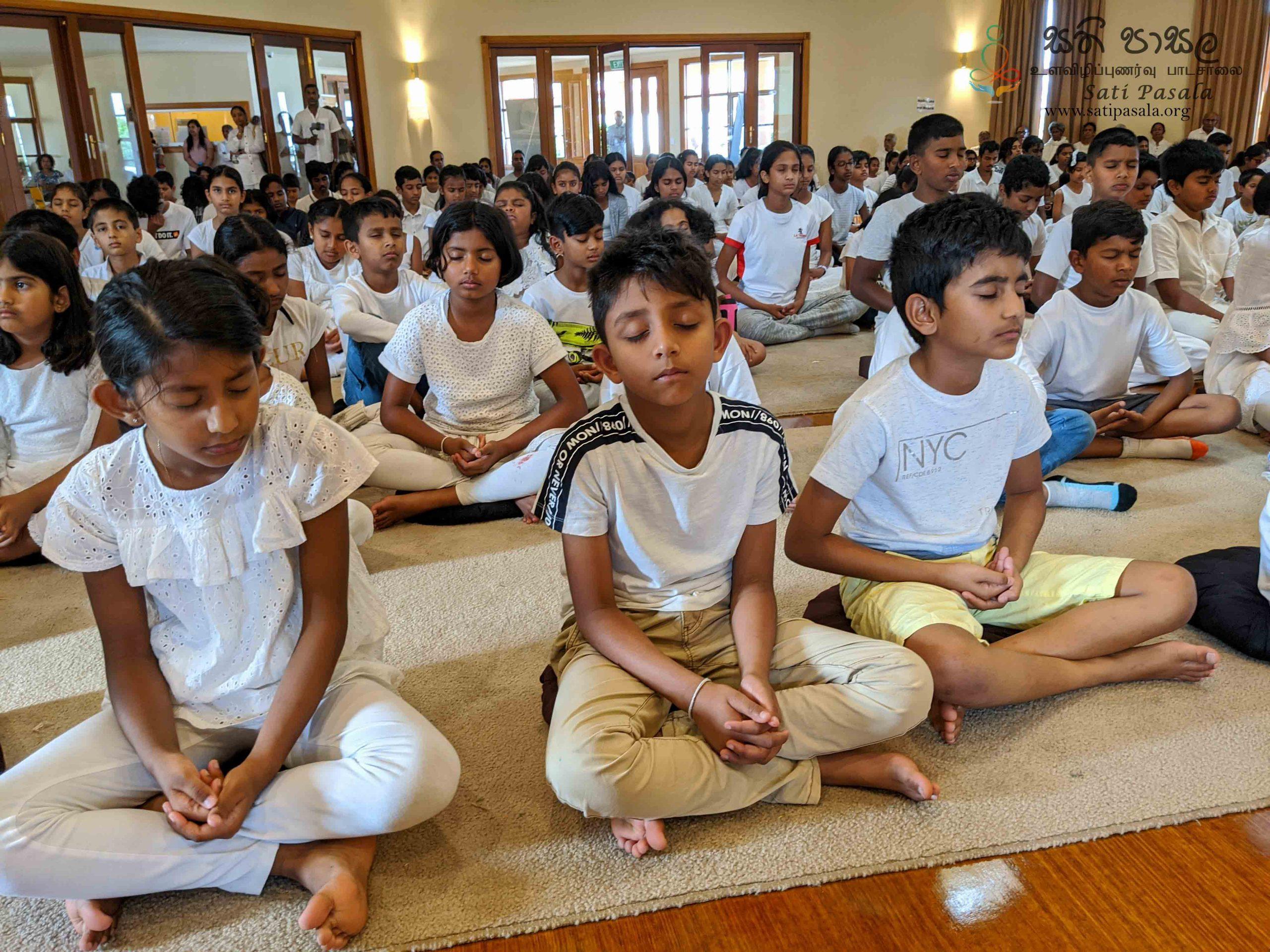 Sati Pasala – Melbourne at Dhamma Sarana Vihara: Session Report – January 2020